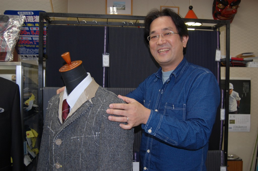鈴木洋服店 三代目店主・鈴木貴氏