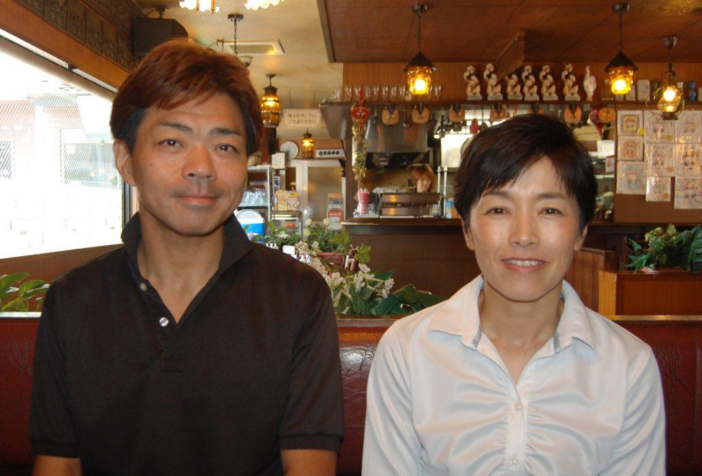 代表取締役社長 福島健司氏(写真左) 取締役 福島展子氏(右)