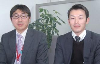 高崎商工会議所 経営支援課 主査 梅澤史明氏(写真左)、 大友雄太氏(右)