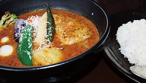 スープカレーの例