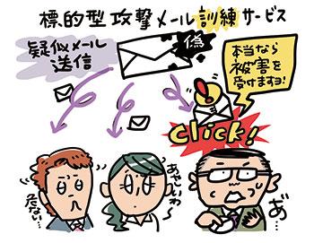 "NTT東日本「標的型攻撃メール""訓練""サービス」"