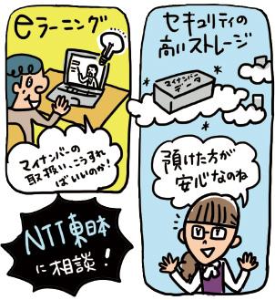eラーニング、セキュリティ。マイナンバーのお悩みはNTT東日本へ